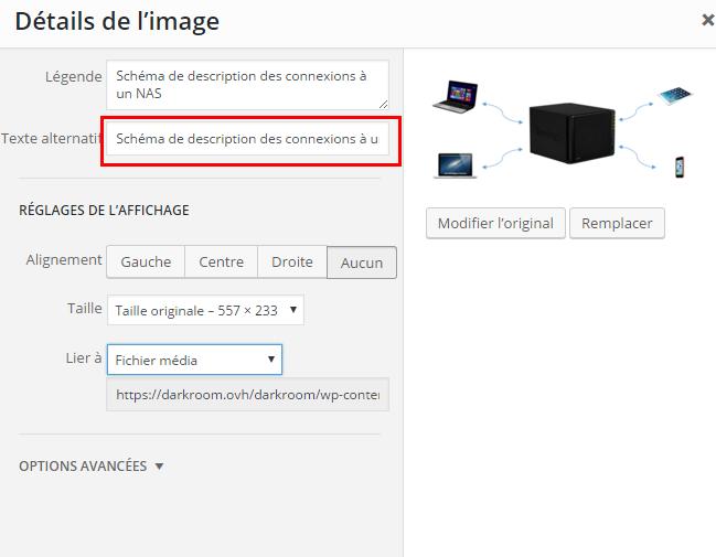 Comment modifier le texte alternatif de vos images dans WordPress