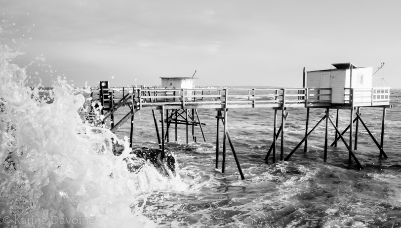 Carrelet-Vague-embruns-royan Carrelets Photographie
