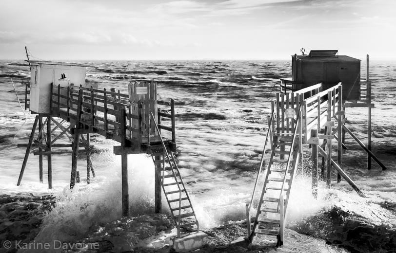 Carrelets-paysage_tempête-royan-duo Carrelets Photographie